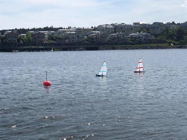 Radiostyrda segelbåtar