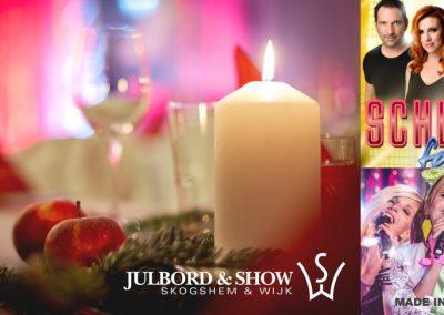 Vet du att vi anordnar julshow i december?