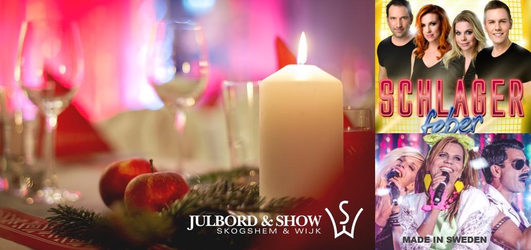 Julfest med show