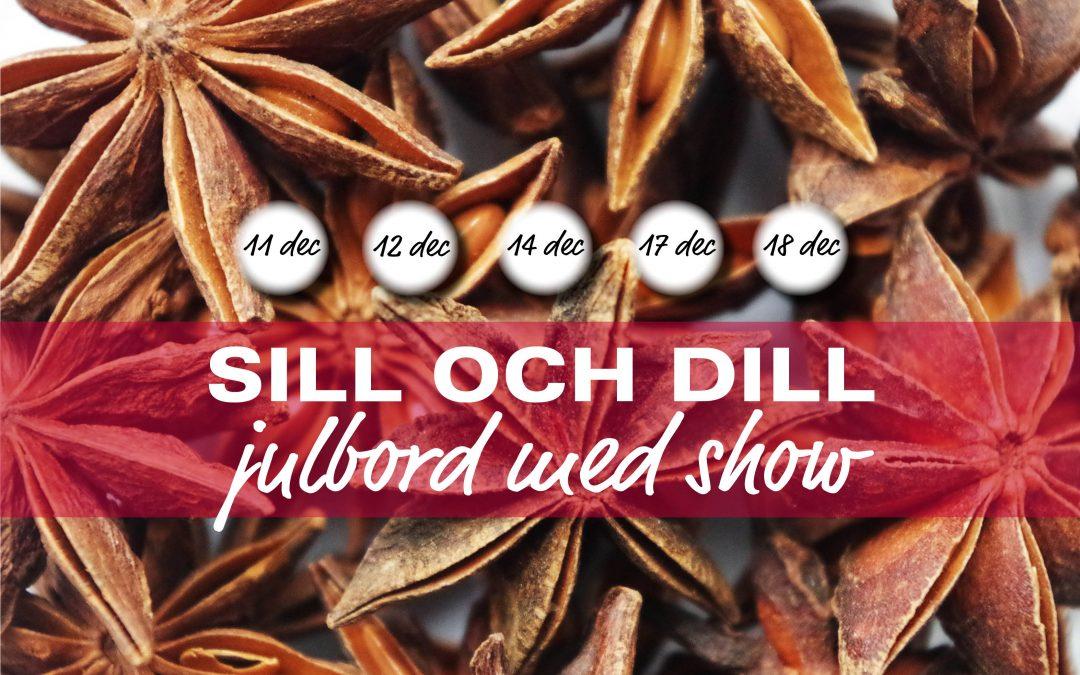 Julbord, Show – Julfest