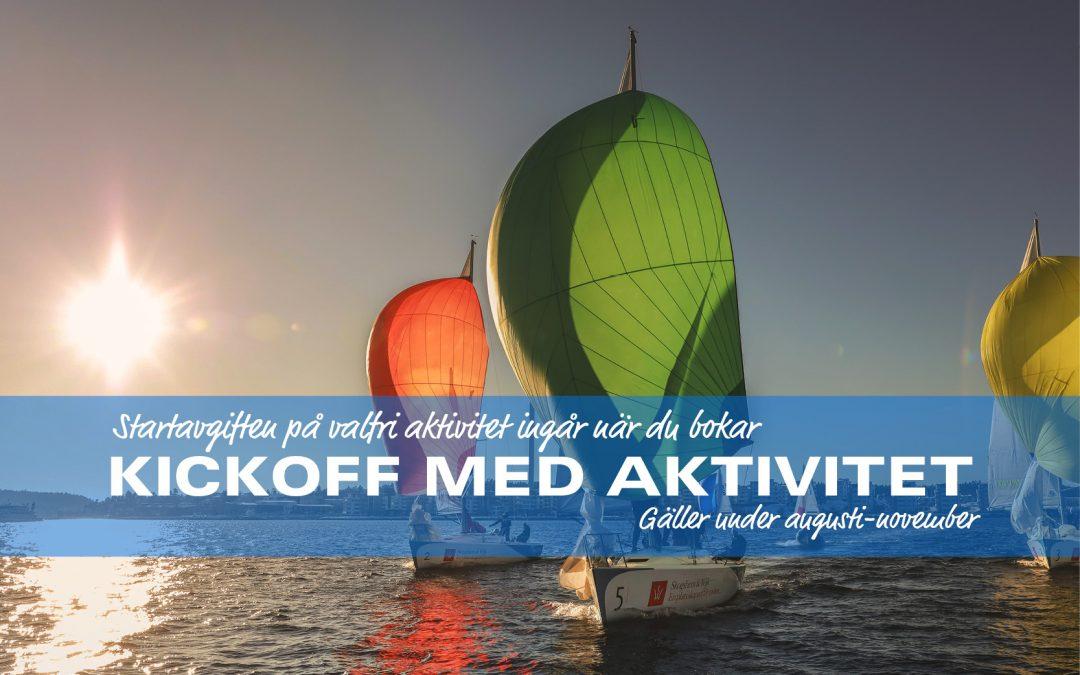 Kickoff med Aktivitet