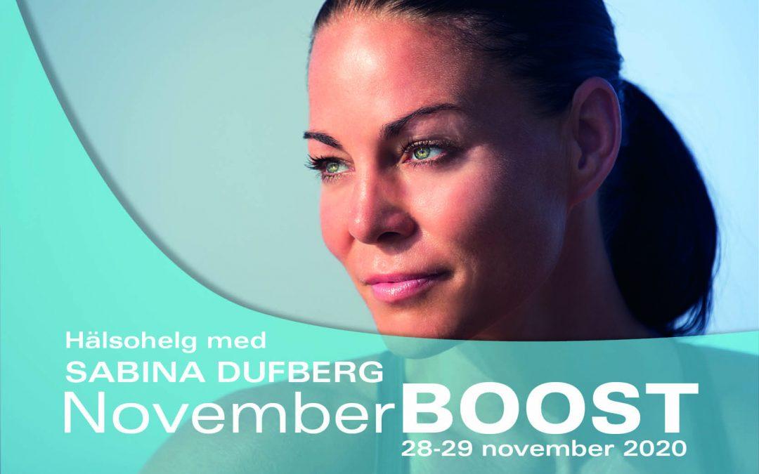 NovemberBOOST 28-29 Nov 2020