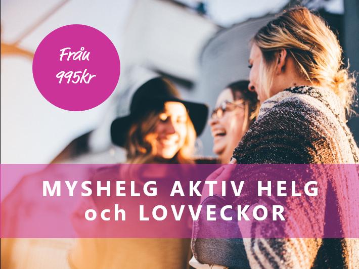 Aktiv Myshelg och Lovveckor från 995:-