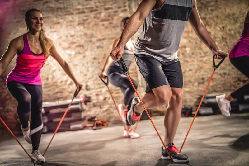 Vi har 4 st gym - träna så mycket du vill