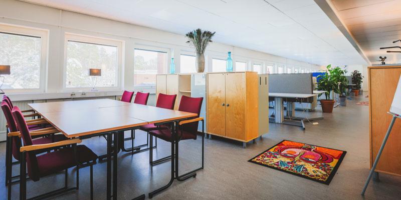Hyr arbetsrum och kontorsplats